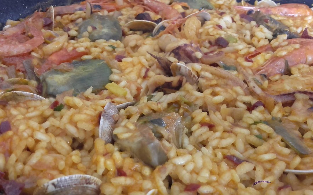 Arroz de Mar y Huerta